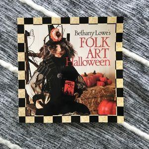 Folk Art Halloween Book
